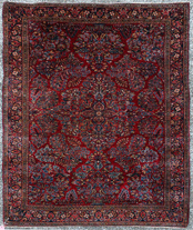 SEMI-ANTIQUE  ESTATE ORIENTAL RUG