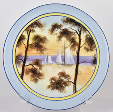 Nippon Round Scenic Hot Plate