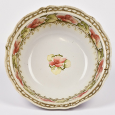 Nippon Bowl with Floral Decoration.