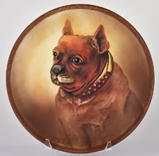 Nippon Molded in Relieg Bulldog Plaque